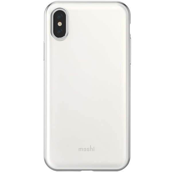 Чехол Moshi iGlaze для iPhone XS White белого цвета