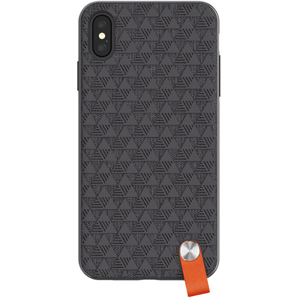 Чехол Moshi Altra для iPhone XS Max Black черного цвета