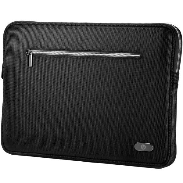 """Купить Кейс для ноутбука до 15"""" HP 14.1 Black Sleeve в каталоге интернет магазина М.Видео по выгодной цене с доставкой, отзывы, фотографии - Ижевск"""