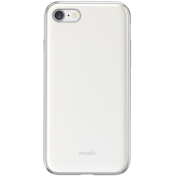 Чехол Moshi iGlaze дляiPhone 7/8 Sahara Beige белого цвета