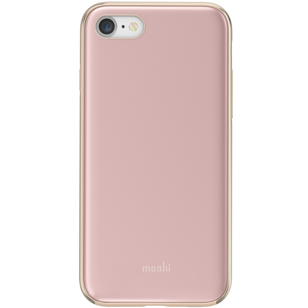 Чехол Moshi iGlaze дляiPhone 7/8 Rose Pink розового цвета