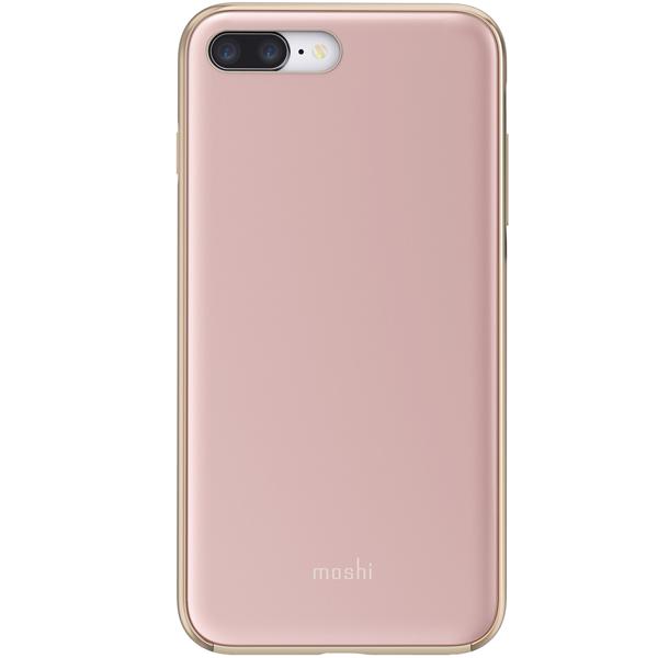 Чехол Moshi iGlaze для iPhone 7 Plus/8 Plus Rose Pink розового цвета
