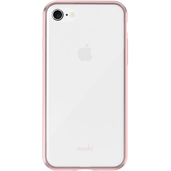 "Чехол Moshi Vitros для iPhone 7/8 Clear Pink цвет розовый/""прозрачный"""