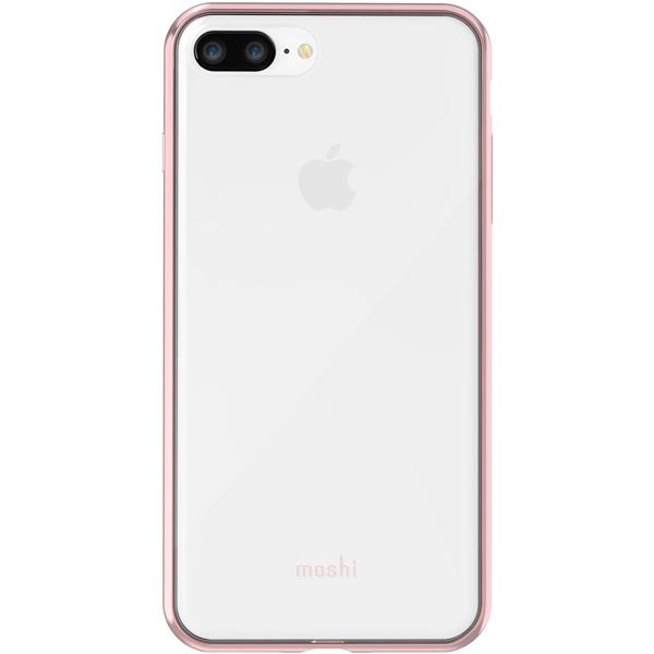 "Чехол Moshi Vitros для iPhone 8 Plus/7 Plus Clear Pink цвет розовый/""прозрачный"""
