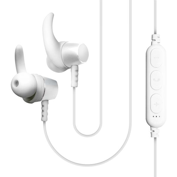 Спортивные наушники Bluetooth QUB — STN-180 White