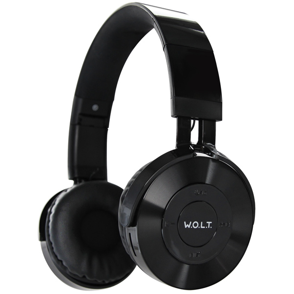 Наушники Bluetooth QUB — STN-240 Black