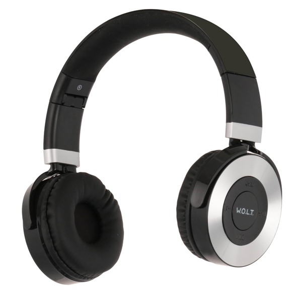 Наушники Bluetooth QUB — STN-240 Silver