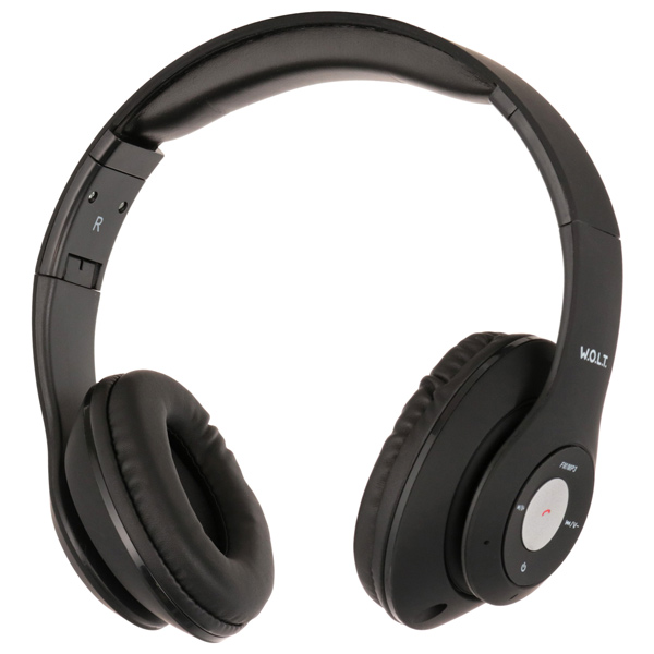 Наушники Bluetooth QUB — STN-260 Black