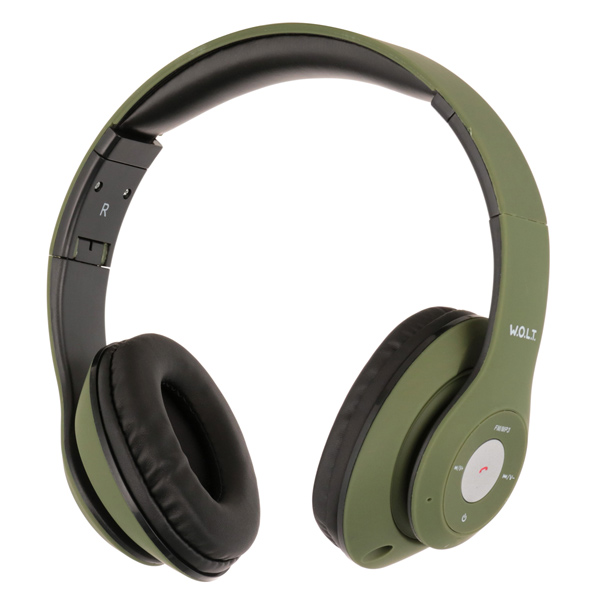 Наушники Bluetooth QUB — STN-260 Green
