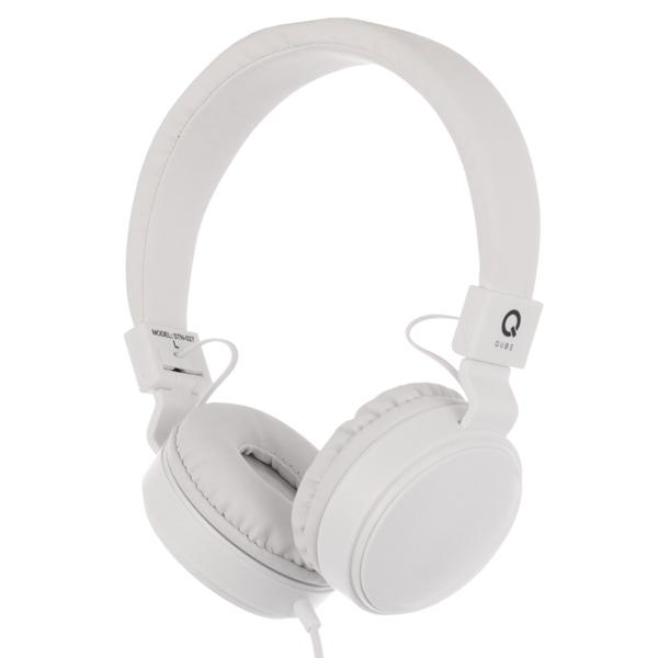 Наушники полноразмерные QUB STN-027 White