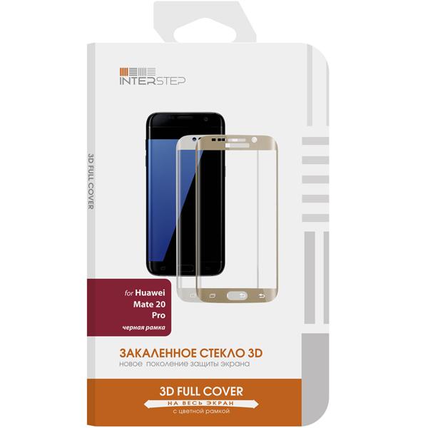 Защитное стекло InterStep 3D Full Cover для Huawei Mate 20 Pro, Black Frame