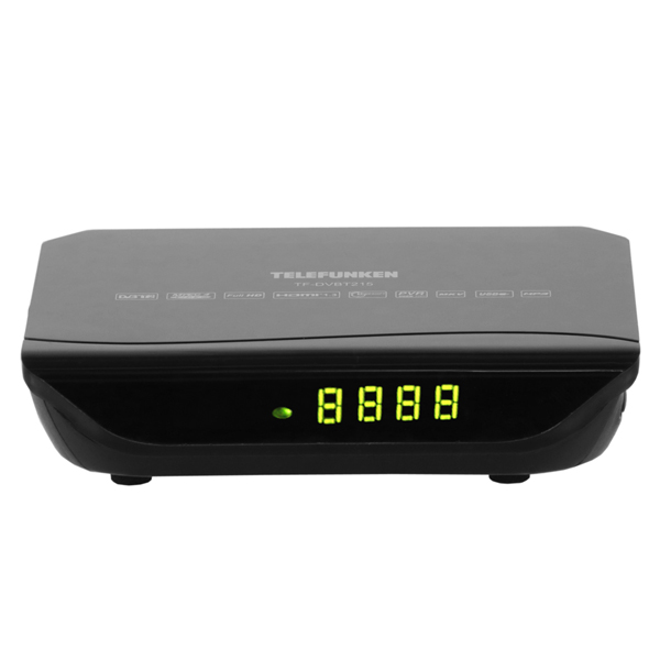 Приемник телевизионный DVB-T2 Telefunken TF-DVBT215