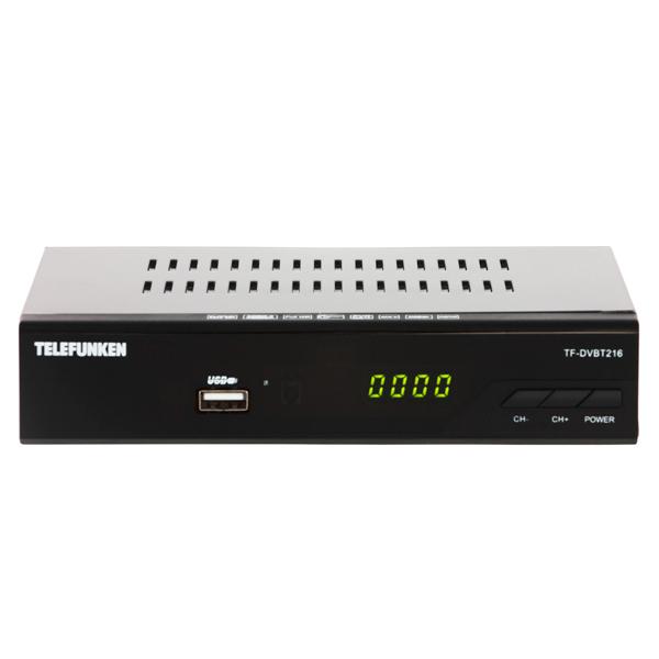 Приемник телевизионный DVB-T2 Telefunken TF-DVBT216