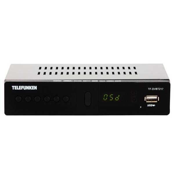Приемник телевизионный DVB-T2 Telefunken TF-DVBT217