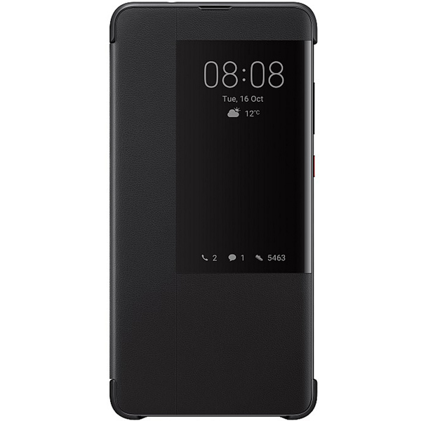 Чехол для сотового телефона Huawei Smart View Flip Cover д/Mate 20, Black (51992621)