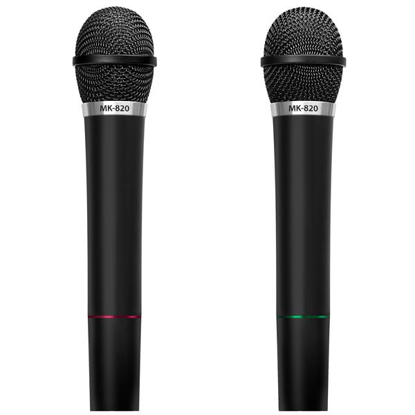 Микрофон беспроводной Sven MK-820 Black (2шт.)