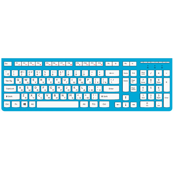 Клавиатура проводная RSQ RSQ-KBWD-002-BL