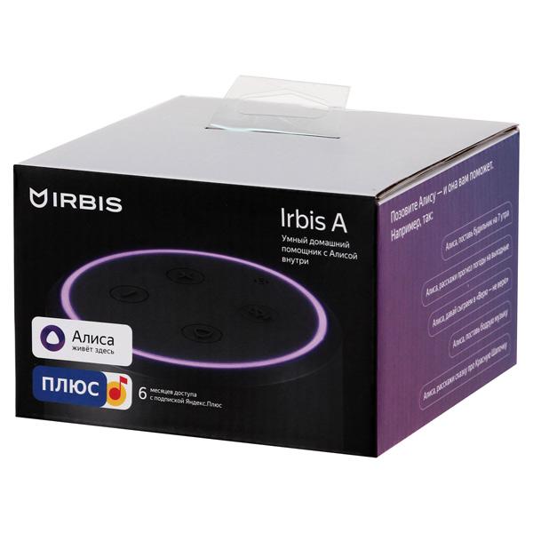 Smart гаджет Irbis A Умный домашний помощник с Алисой (A01) Black