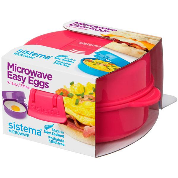 Контейнер для продуктов Sistema MICROWAVE 21117 271мл Pink