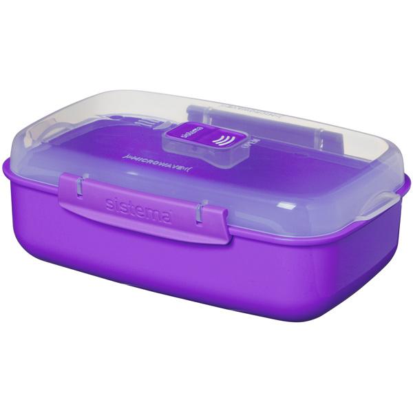 Контейнер для продуктов Sistema MICROWAVE 21114 1,25л Violet фото