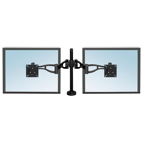 Кронштейн для монитора Fellowes DEPTH ADJUSTABLE DUAL MONITOR ARMS (CRC80417)