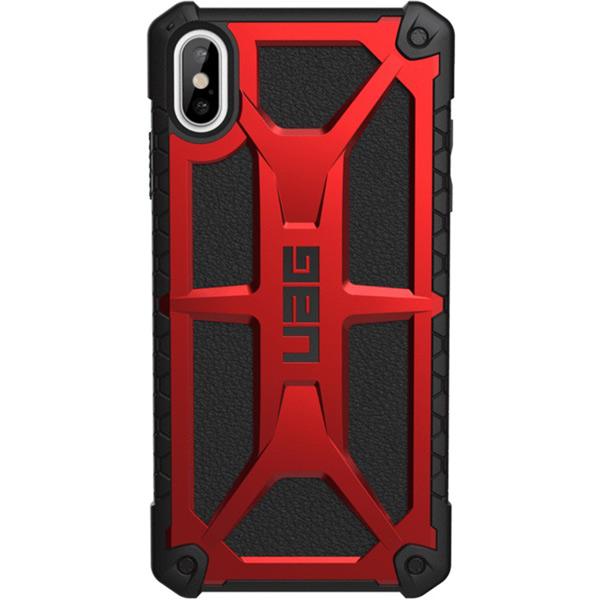 Чехол для iPhone UAG Monarch для Apple iPhone XS Max, Red пальто женское sh bethlehem цвет красный rna18223cp red fire размер xs 40