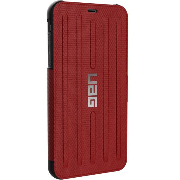 Чехол для iPhone UAG Metropolis для Apple iPhone XS Max, Red пальто женское sh bethlehem цвет красный rna18223cp red fire размер xs 40