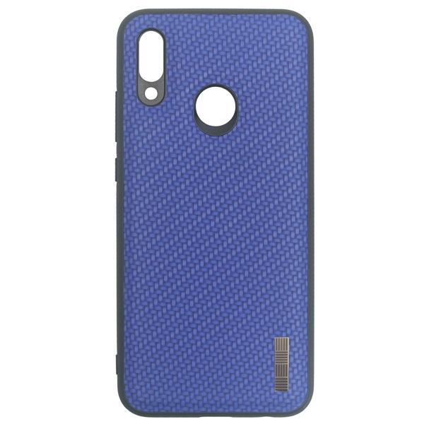 Чехол для сотового телефона InterStep Carbone ADV для Huawei P Smart 2019, Blue