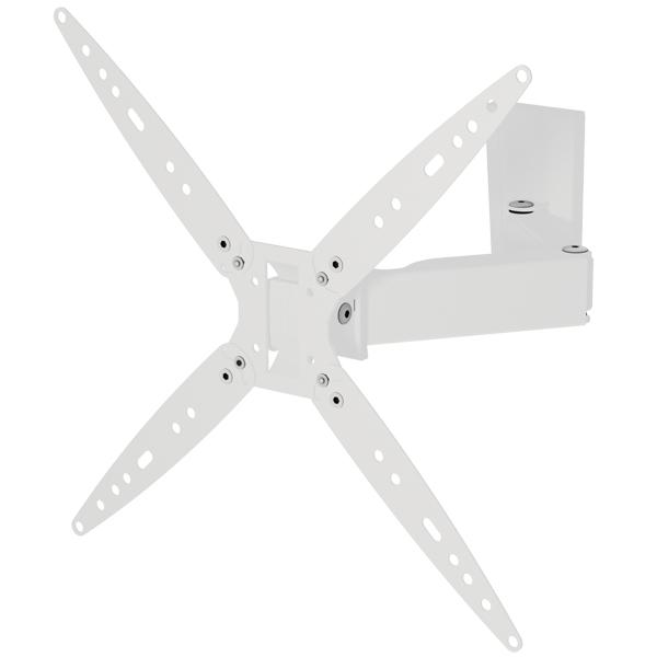 Кронштейн для ТВ наклонно-поворотный Mart 4477 White