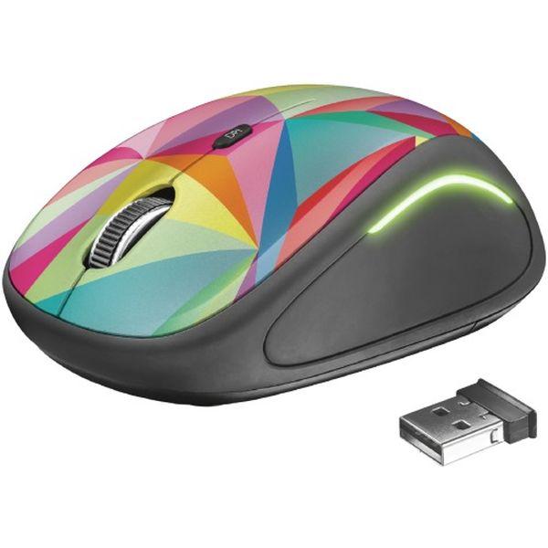 Мышь беспроводная Trust YVI FX Color (22337)