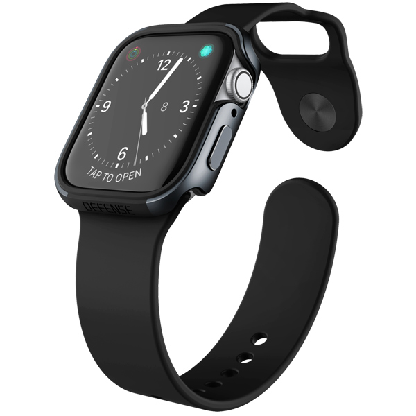 Бампер для Apple Watch X-Doria Defense Edge Apple Watch 44mm черный