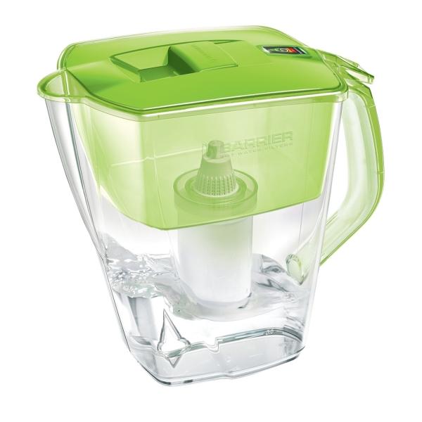 Фильтр для очистки воды Барьер Прайм Опти-Лайт зеленое яблоко (В582Р00)