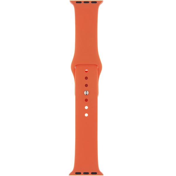 Ремешок InterStep SPORT 38mm&40mm, силикон, оранжевый