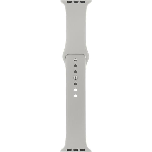 Ремешок InterStep SPORT 38mm&40mm, силикон, светло-серый