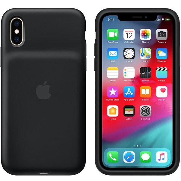 Чехол-аккумулятор Apple iPhone XS Smart Battery Case Black
