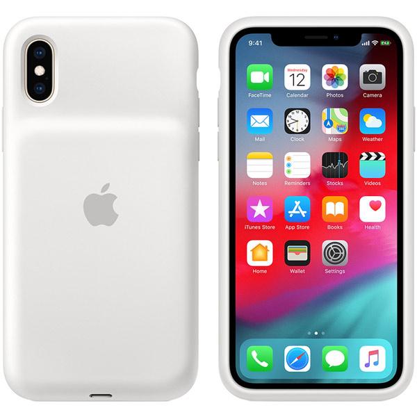 Чехол-аккумулятор Apple iPhone XS Smart Battery Case White