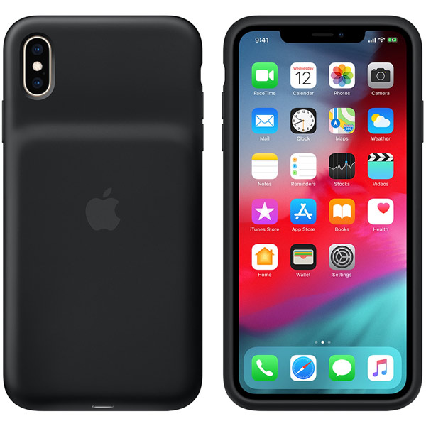 Чехол-аккумулятор Apple iPhone XS Max Smart Battery Case Black