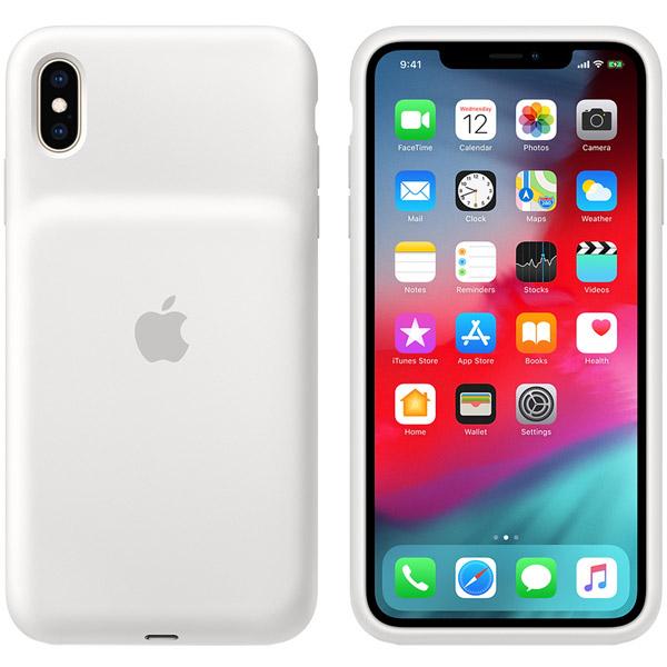 Чехол-аккумулятор Apple iPhone XS Max Smart Battery Case White