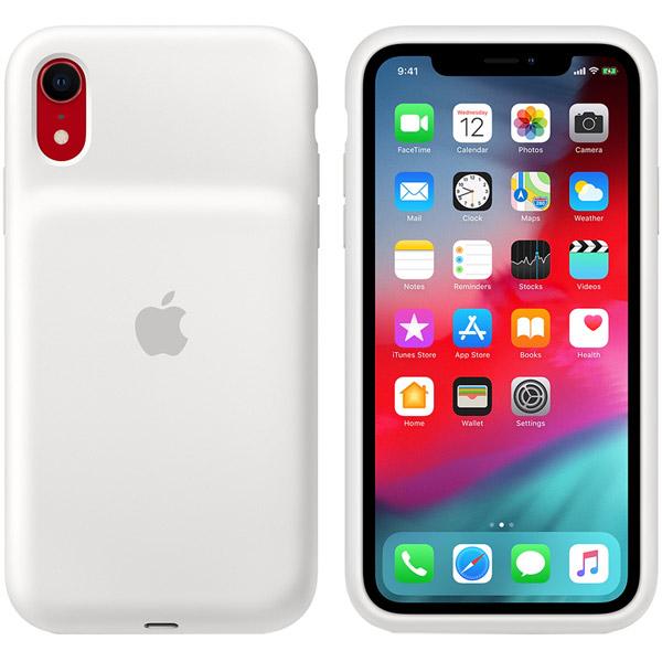 Чехол-аккумулятор Apple iPhone XR Smart Battery Case White