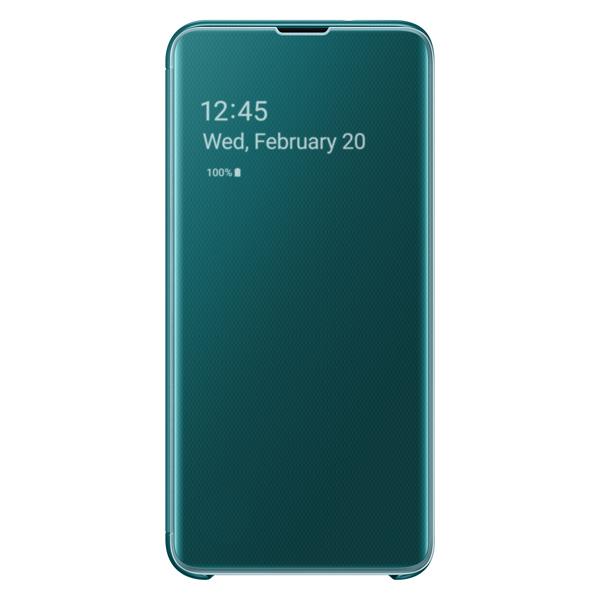 Чехол Samsung — Clear View Cover для Galaxy S10E, Green
