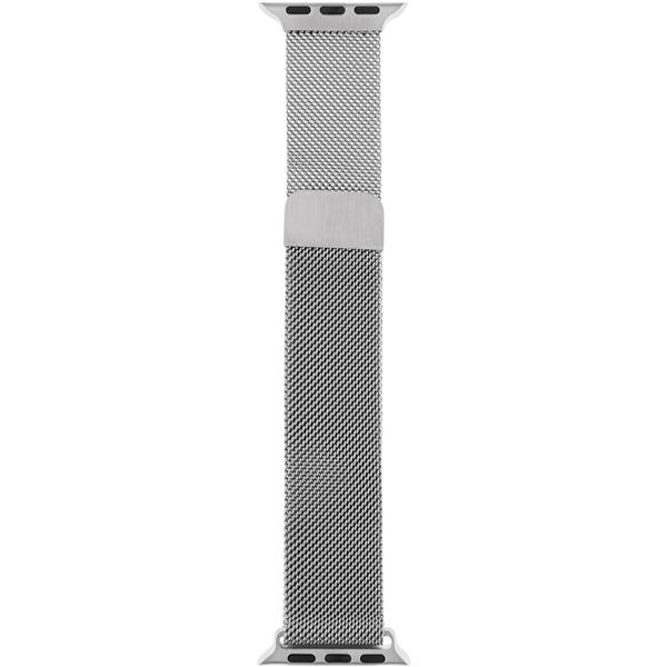 Ремешок InterStep MESH Apple Watch 42mm&44mm, сталь, серебро