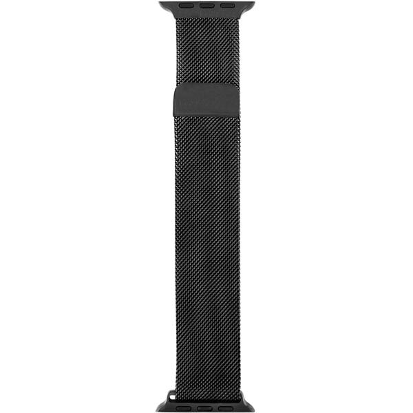 Ремешок InterStep MESH Apple Watch 42mm&44mm, сталь, чёрный