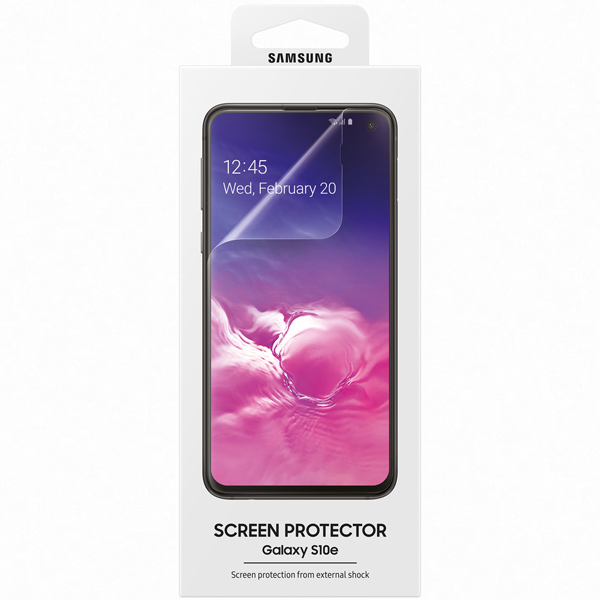 Пленка для Samsung — Samsung Galaxy S10E, Transparent
