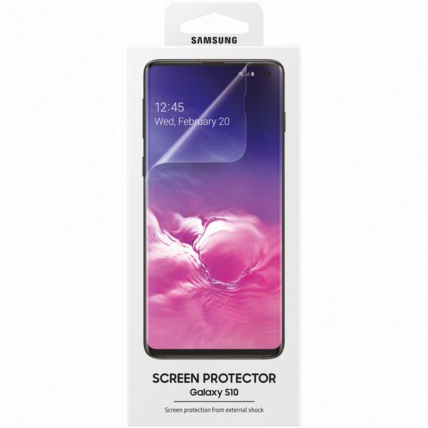 Плёнка для сотового телефона Samsung Galaxy S10, Transparent