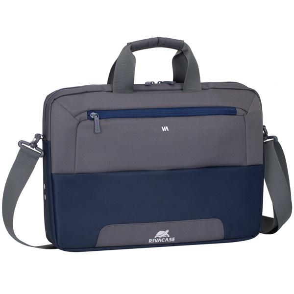 "Кейс для ноутбука до 15"" RIVACASE — 7727 13.3-14"" Blue/Grey"