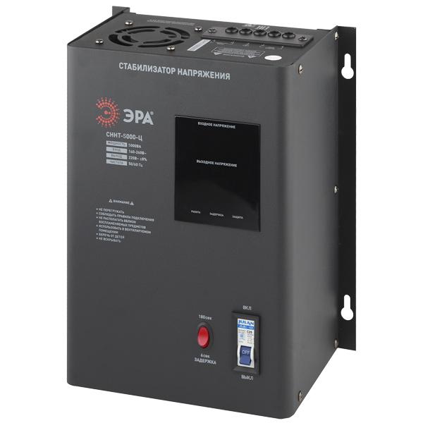 Стабилизатор напряжения ЭРА СННТ-5000-Ц