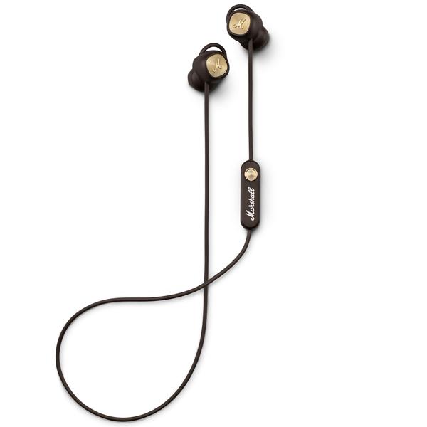 Наушники Bluetooth Marshall — Minor II Brown