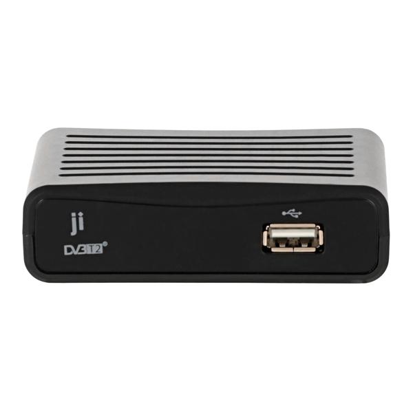 Приемник телевизионный DVB-T2 Ji JT2-2701