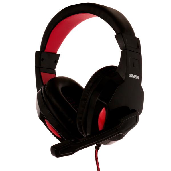 Игровые наушники Sven — AP-G857MV Black/Red