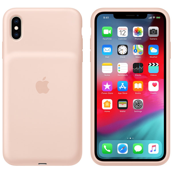 Чехол-аккумулятор Apple iPhone XS Max SmBattCase Pink Sand